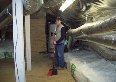 Insulation Dallas Tx Clean Up