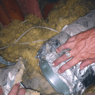 Insulation Dallas Tx Open Duct